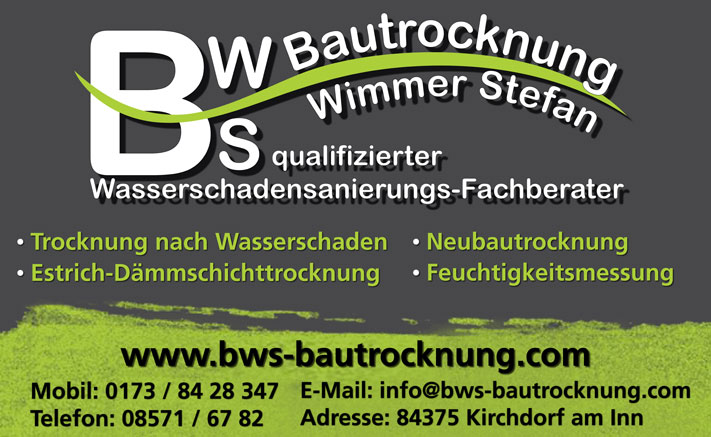 BWS Bautrocknung